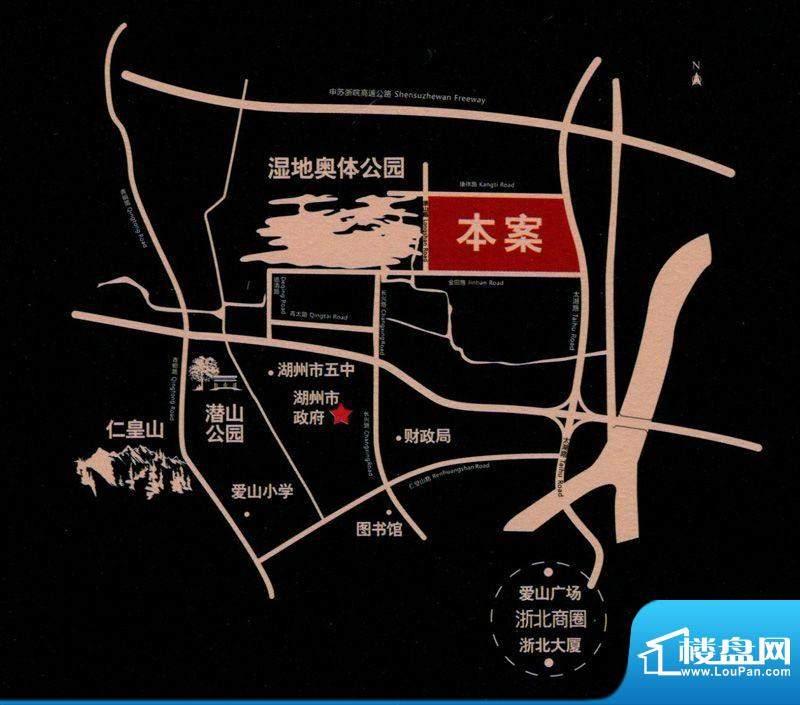 奥园壹号交通图