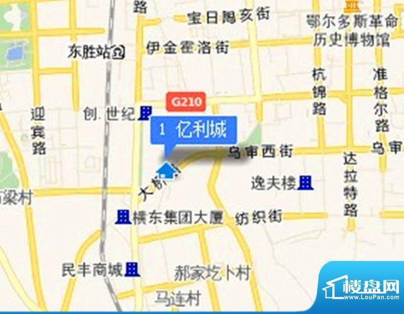 亿利城·滨河湾交通图