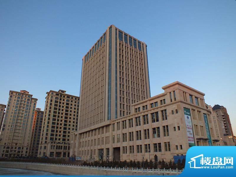 亿利城·滨河湾实景图