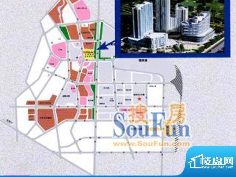 兴蒙时代广场交通图