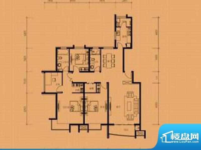 兴蒙时代广场户型图面积:0.00m平米