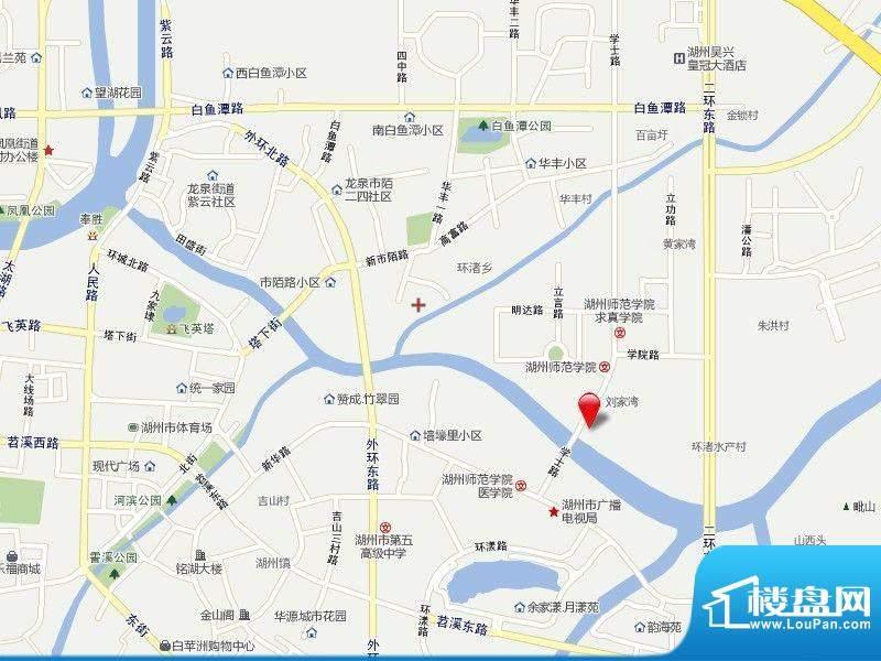 景鸿铭城交通图