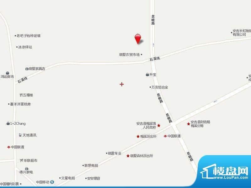 梅陇花园北苑交通图