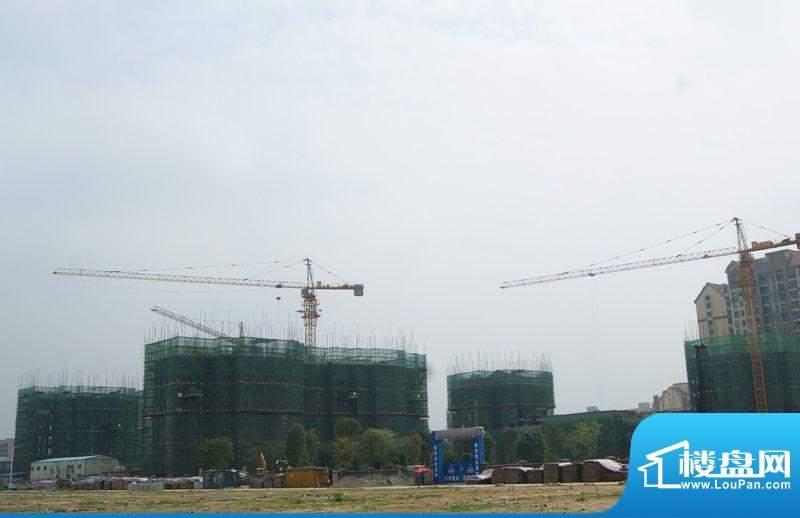 恒大帝景项目施工外景图(2012-04-10)
