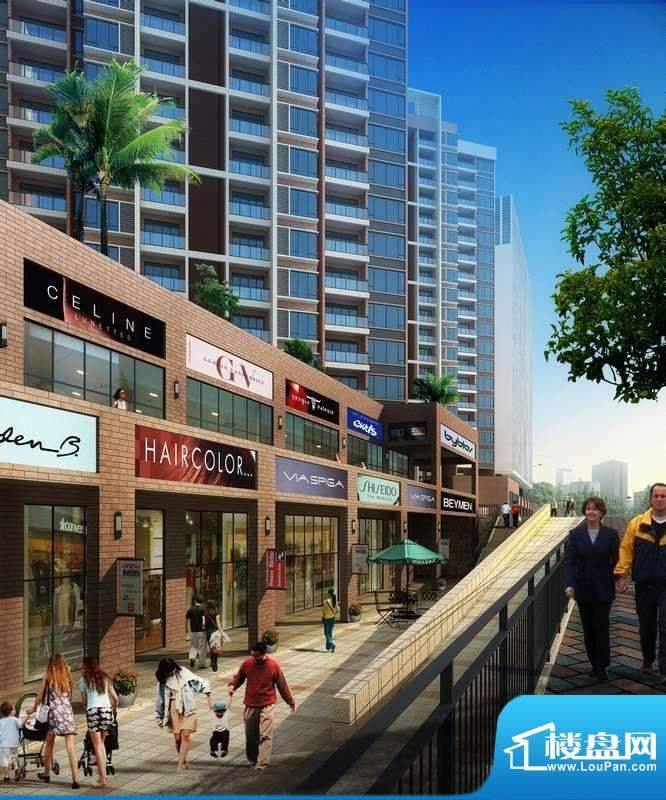 长虹百荟项目商业广场效果图