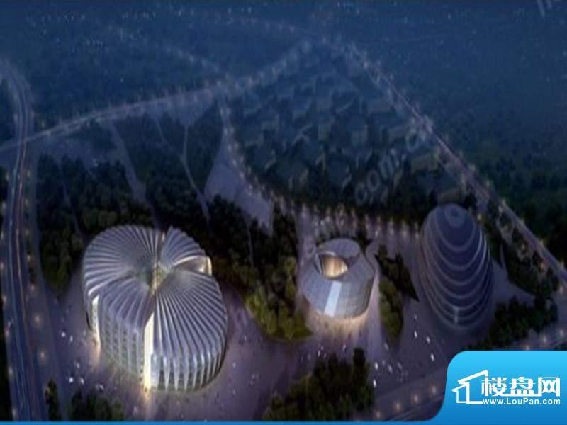 中国鄂尔多斯低碳谷效果图