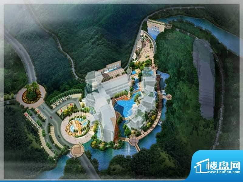 中国鄂尔多斯低碳谷实景图