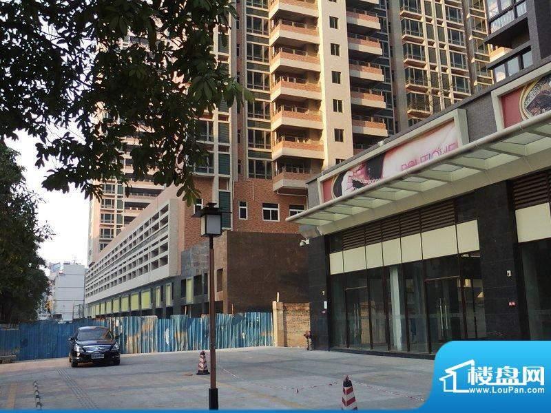 达鑫龙庭商业街实景图(2010-12-23)