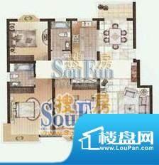 达鑫龙庭户型2 3室2面积:0.00平米