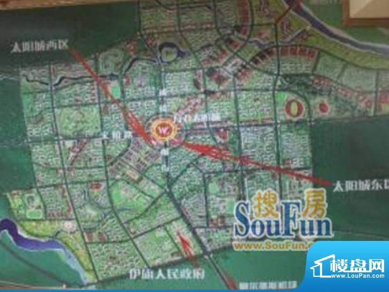 万力太阳城交通图