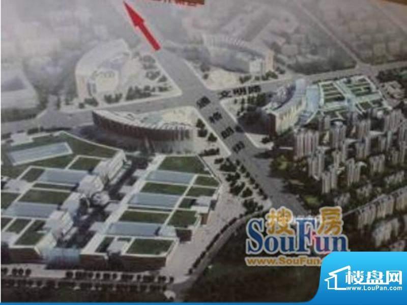 万力太阳城实景图