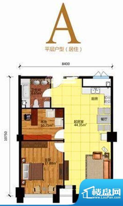 赛特·铂宫户型图4 面积:113.00m平米