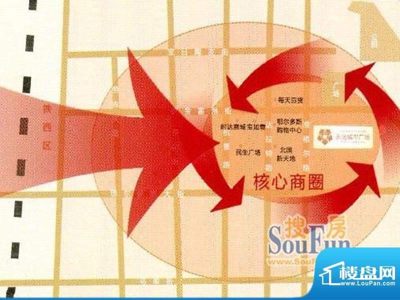 天润城市广场交通图