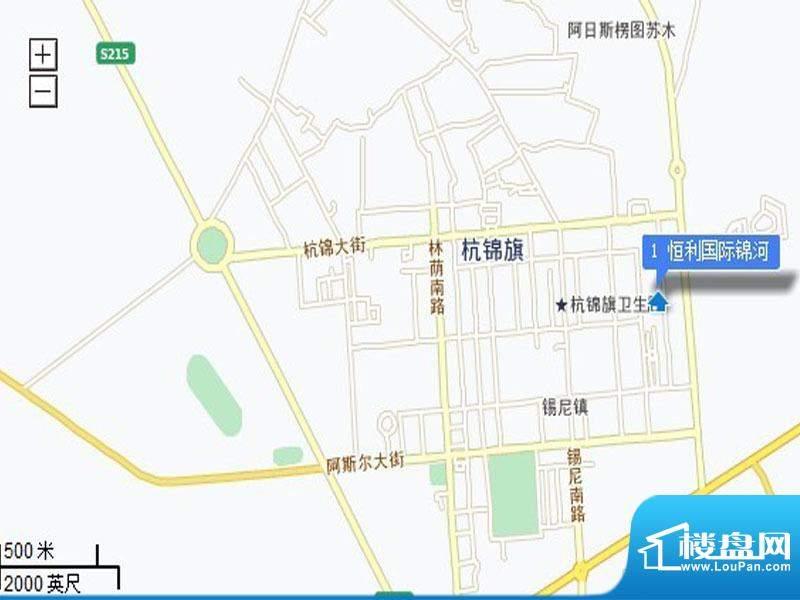 恒利国际·锦河苑交通图