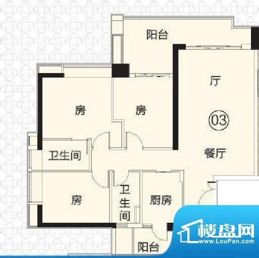 富力君湖华庭T1栋2-面积:120.00平米