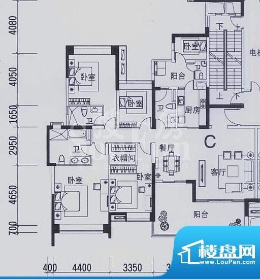 合景天湖峰境F9F13栋面积:201.91平米