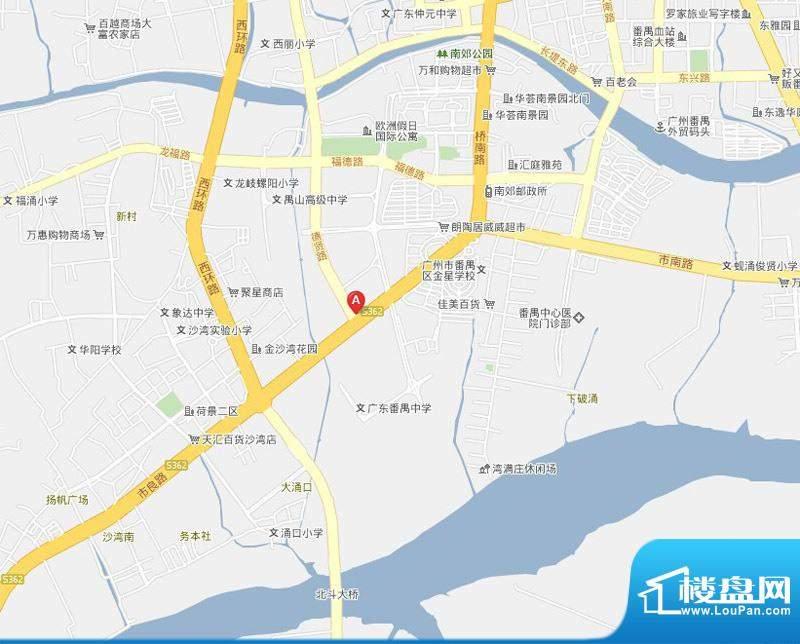 昊龙花园交通图