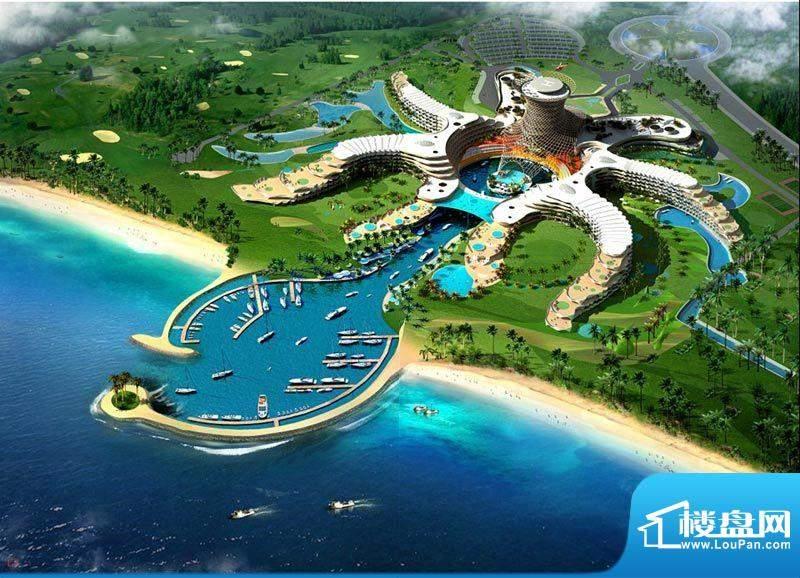 龙沐湾国际旅游度假区实景图