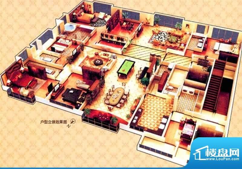 西山名苑B户型 6室3面积:0.00m平米