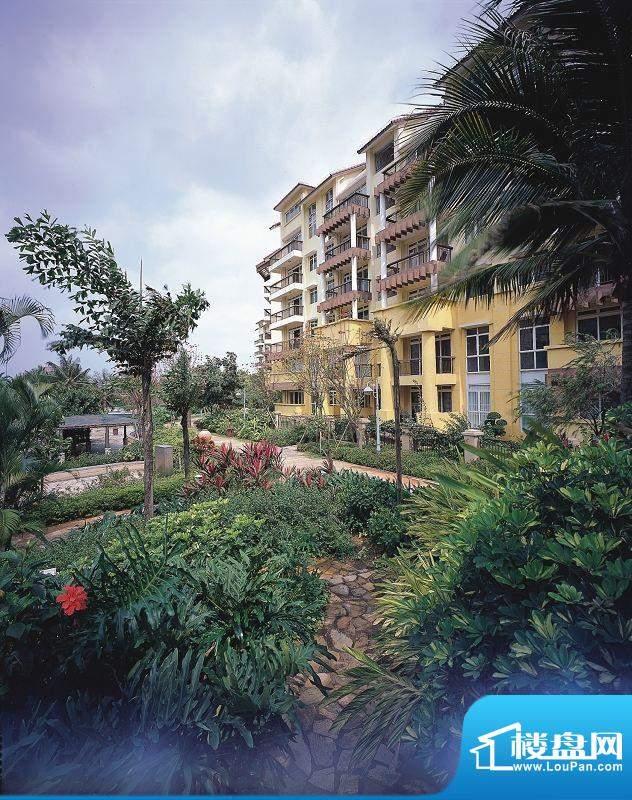 海口新世界花园度假村园林、房子景观实