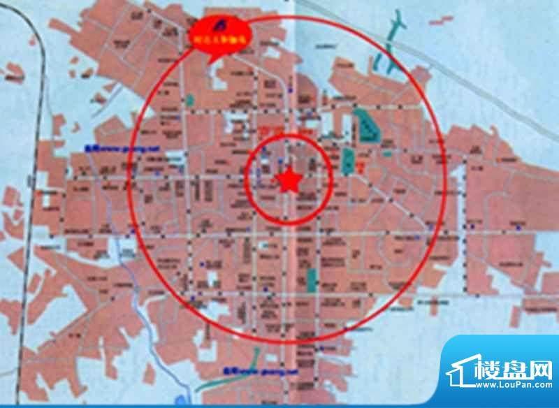 时达·天和俪苑交通图