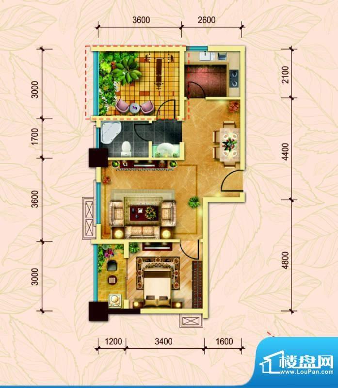 经典华城一期梧桐语面积:79.00平米