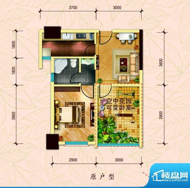 经典华城一期梧桐语面积:57.00平米