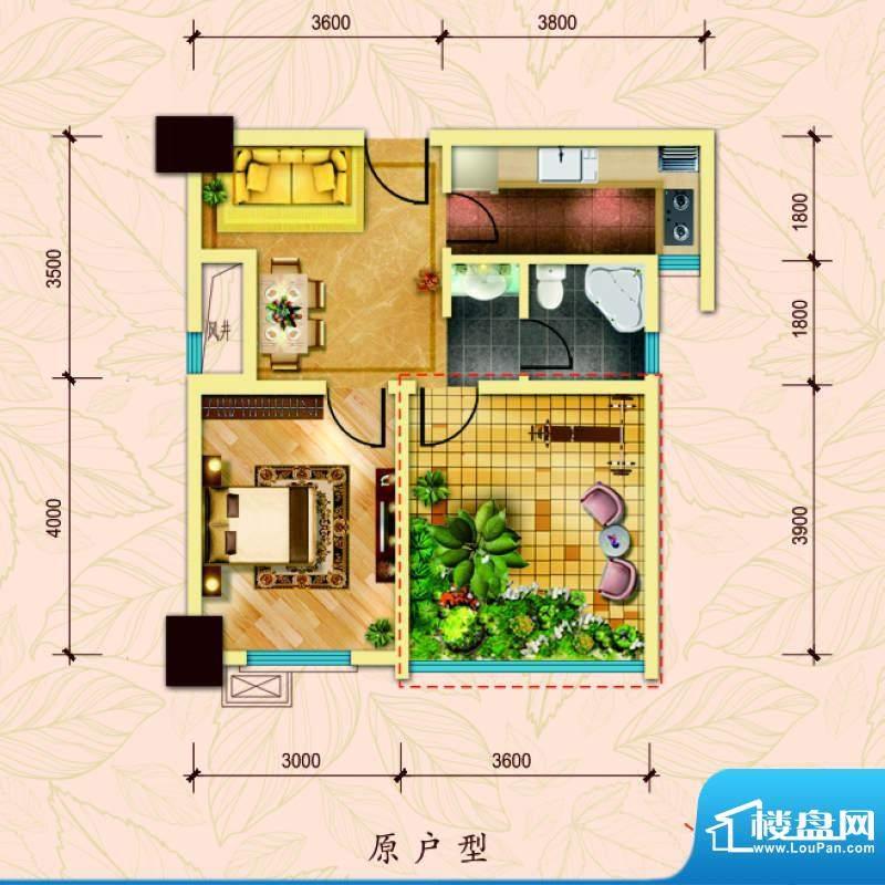 经典华城一期梧桐语面积:61.00平米