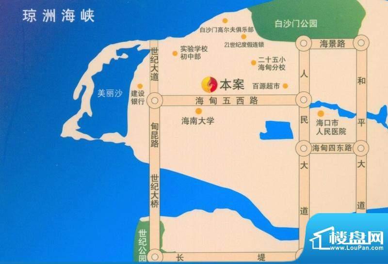 盛泰花园交通图