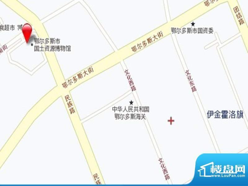 伊泰CEO国际中心交通图