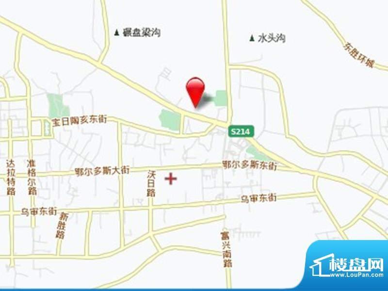 锦绣森邻交通图