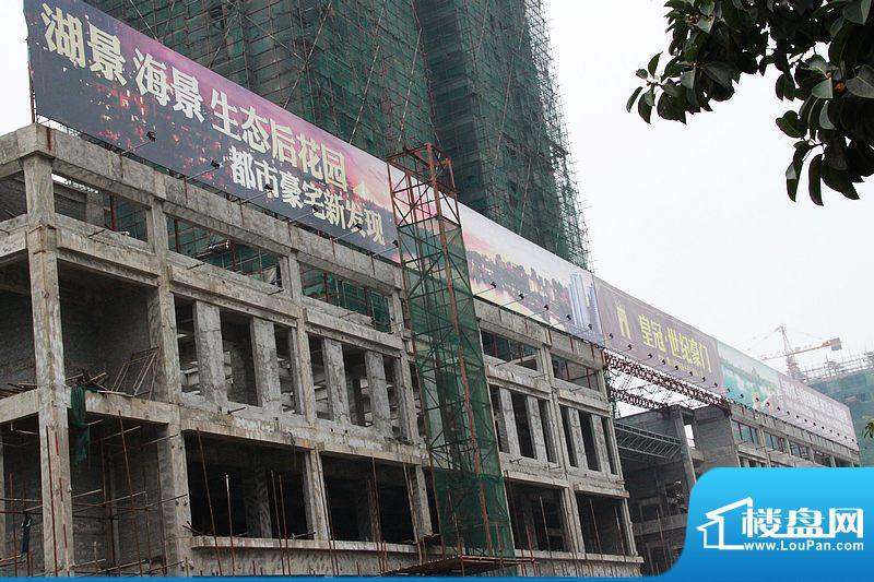 皇冠世纪豪门商铺工程实景图(20110303