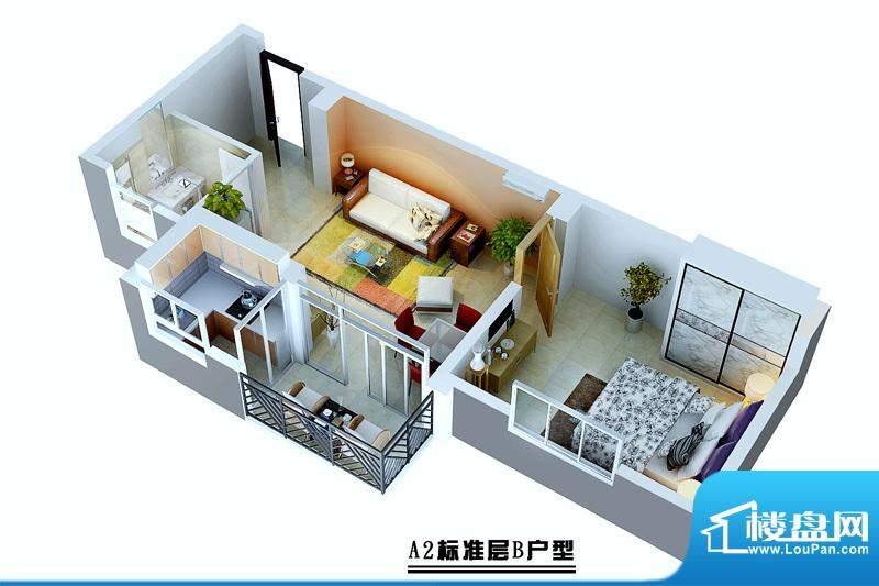 蓝岛滨海康城A2栋b户面积:0.00平米