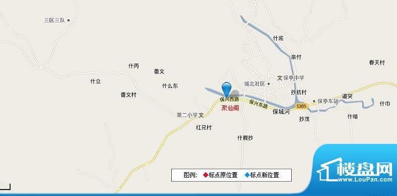聚仙阁交通图