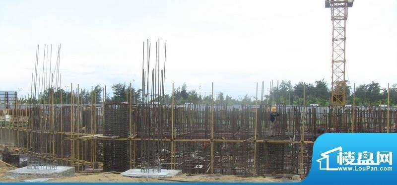 博鳌海御A栋工程进度图(20100826)