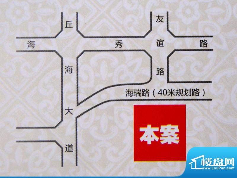 东林小区交通图