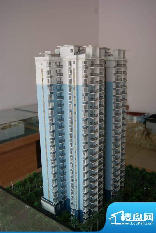 东林小区A栋沙盘实景(20101207)