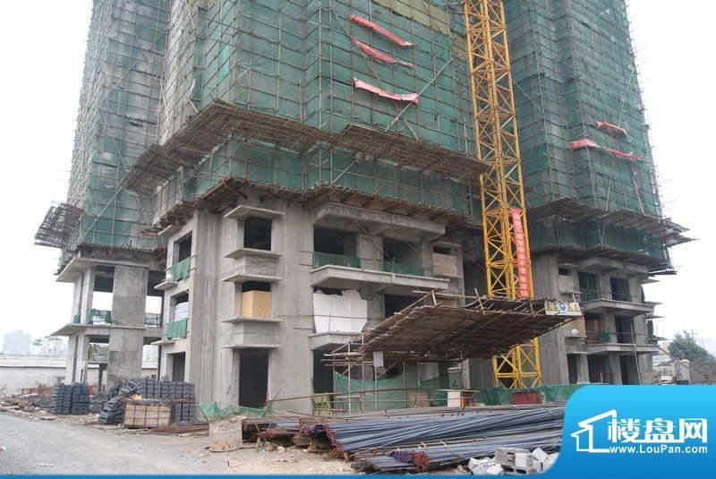 东林小区A栋工程进行(20101207)