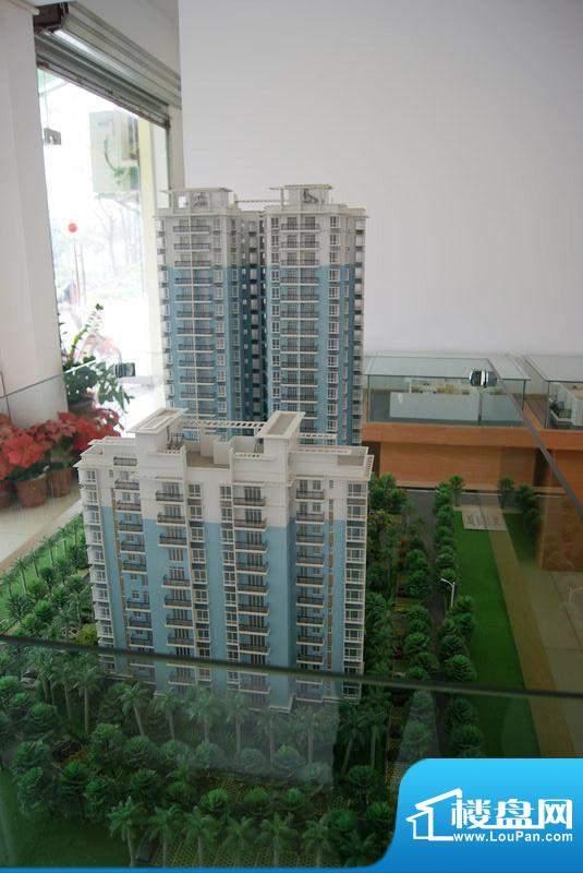 东林小区A、B栋沙盘实景(20101207)