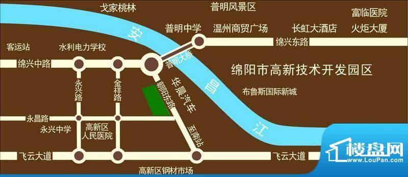 文泉凯旋大道交通图