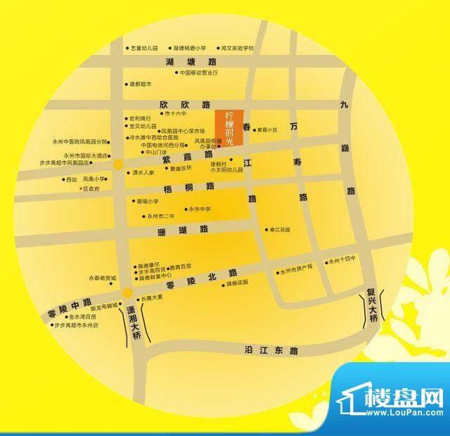 柠檬时光交通图
