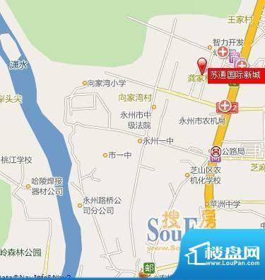 苏通国际新城交通图