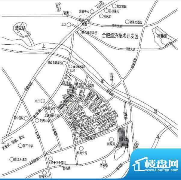 中街水晶城交通图