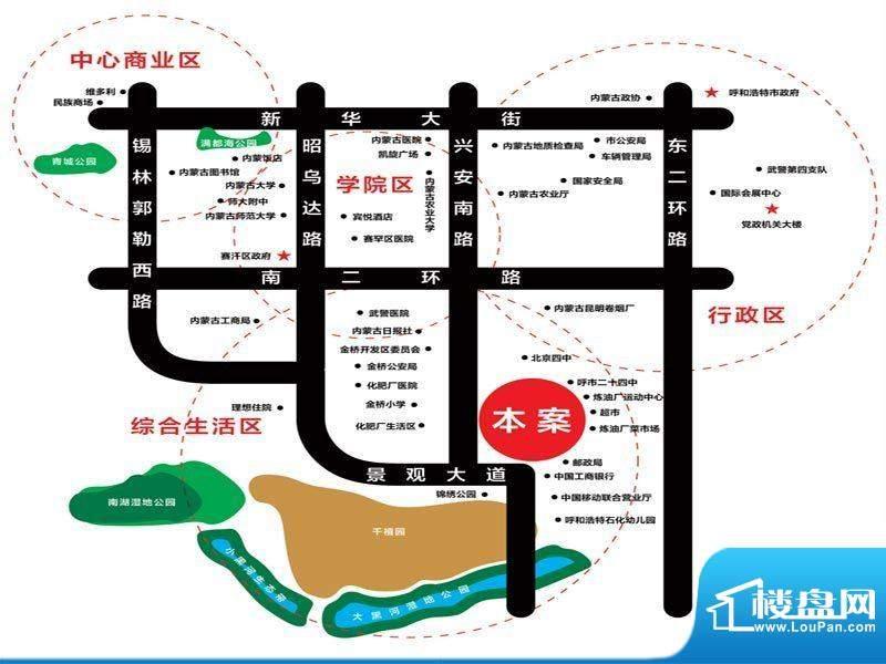 爱巢8090交通图