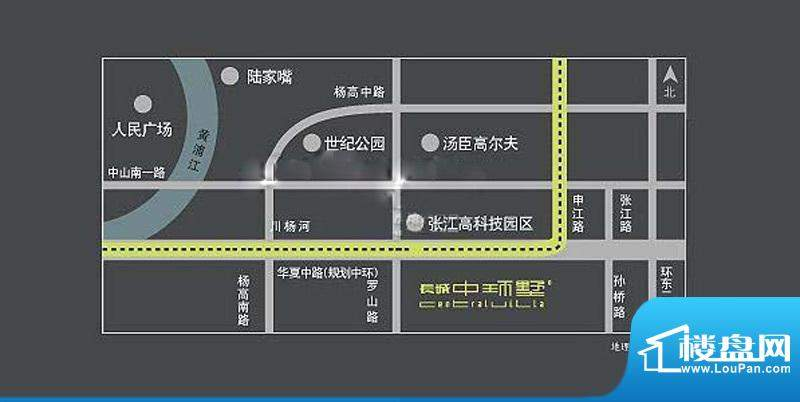长城中环墅交通图