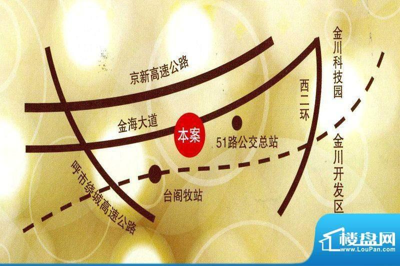 金川新天地位置图