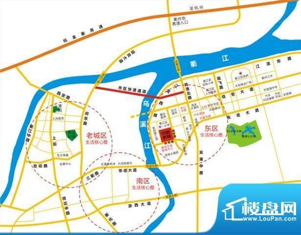 永易·美丽东城交通图