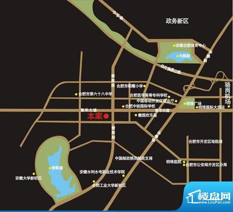 中环城交通图