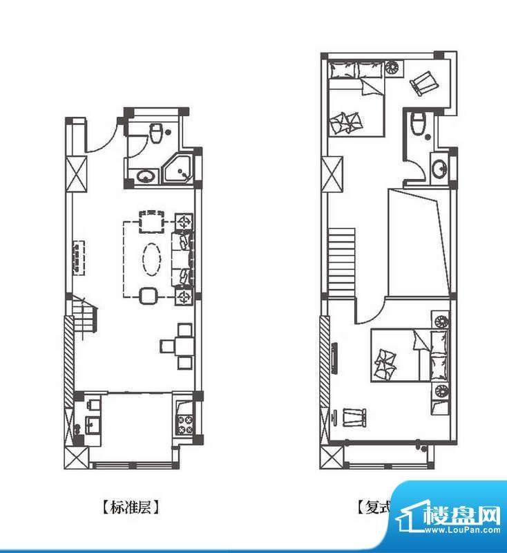 中环城公寓新户型H4面积:71.00平米