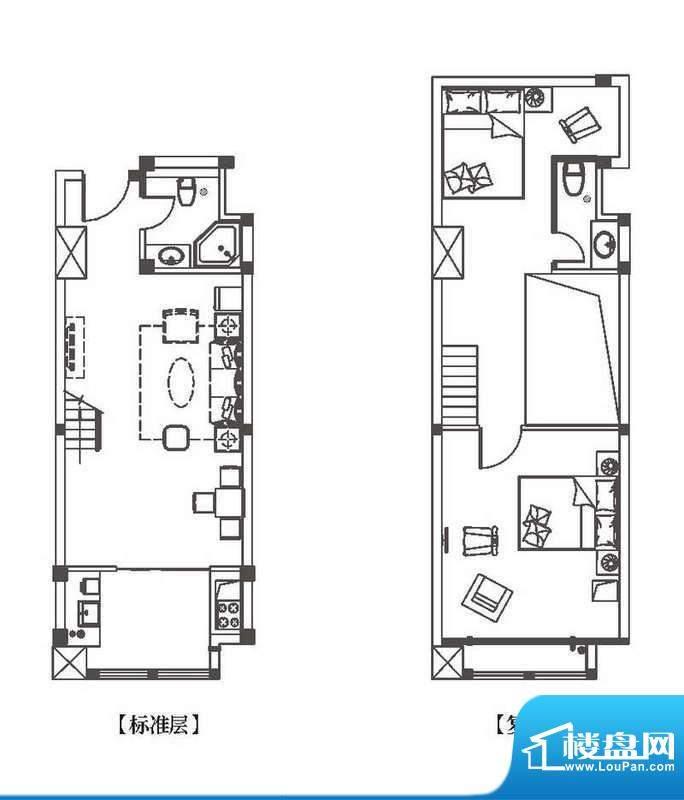 中环城公寓新户型单面积:71.00平米